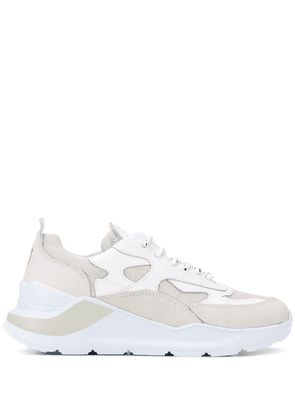 D.A.T.E. chunky low top sneakers - White