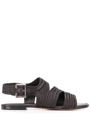 Clergerie Iris braided sandals - Black