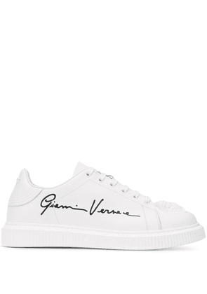Versace Nyx Medusa leather sneakers - White