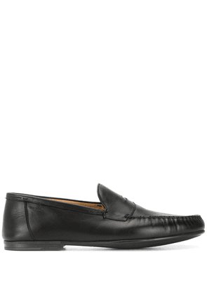 Bally rubber-sole penny strap loafers - Black
