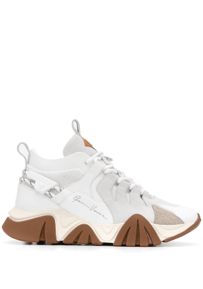 Versace Squalo Hiker snakers - White