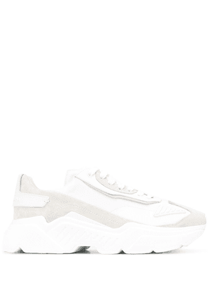 Dolce & Gabbana panelled Daymaster sneakers - White