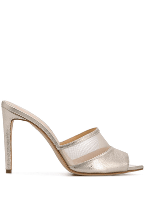 Chloe Gosselin Liz 100mm mules - GOLD