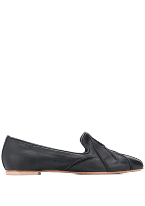 Anna Baiguera Flex quilted loafers - Black