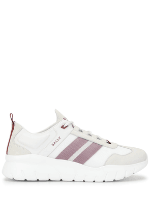 Bally side striped low-top sneakers - NEUTRALS