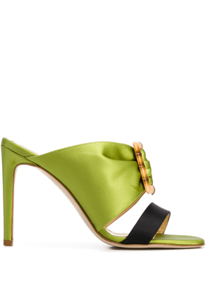 Chloe Gosselin Bambi 90mm mules - Green