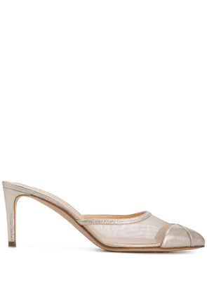 Chloe Gosselin Rachel 70mm mules - GOLD