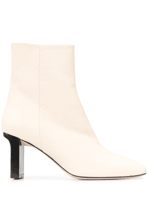 aeyde Billy ankle boots - NEUTRALS
