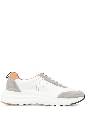 Fratelli Rossetti panelled low top sneakers - White