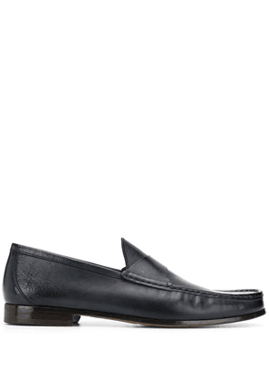 Doucal's low-heel loafer - Blue