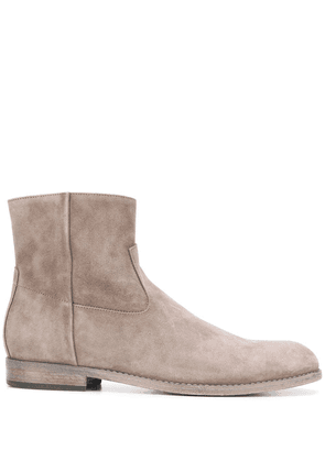 Buttero suede ankle boots - Grey