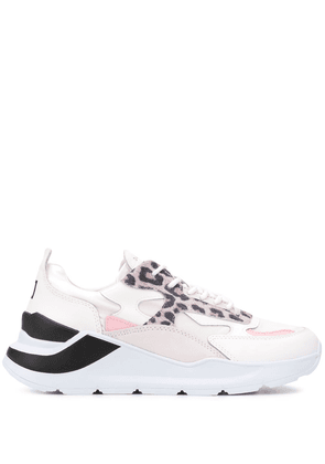 D.A.T.E. Fuga lace-up sneakers - White