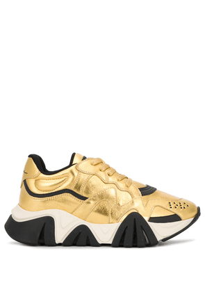 Versace Squalo sneakers - GOLD