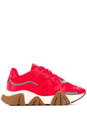 Versace Squalo low-top sneakers - Red