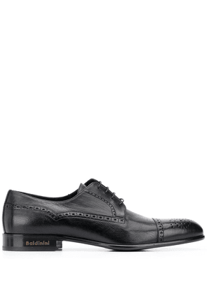 Baldinini lace-up leather brogues - Black