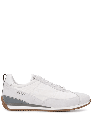 Brimarts panelled lace-up sneakers - White