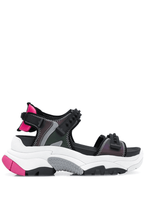 Ash Adapt sneaker-style sandals - Black
