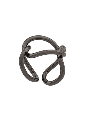 Federica Tosi interlinked looped ring - SILVER
