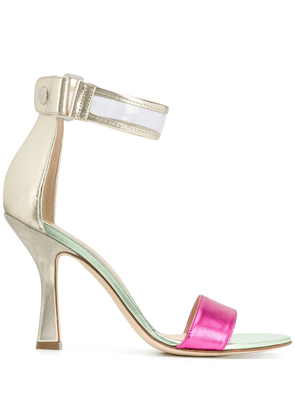 Benedetta Boroli Yara colour-block sandals - PINK