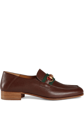 Gucci Leather Horsebit loafer - Brown