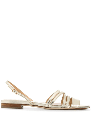 Benedetta Boroli India slingback sandals - GOLD