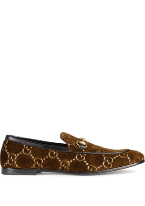 Gucci Gucci Jordaan GG loafers - Brown