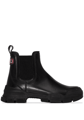 Gucci Leon leather boots - Black