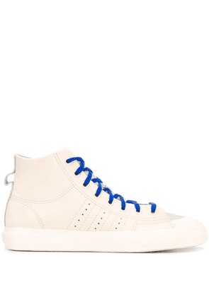 adidas by Pharrell Williams Nizza high-top sneakers - NEUTRALS