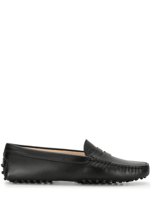 Tod's Gommino picot driving shoes - Black