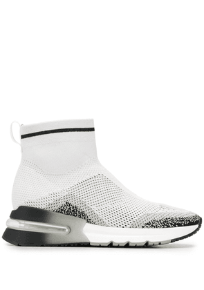 Ash high-top sock sneakers - White