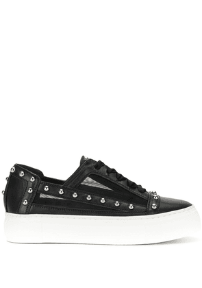 AGL studded low-top sneakers - Black