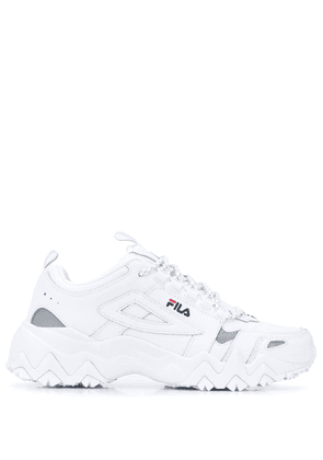 Fila panelled chunky sole sneakers - White