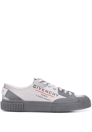 Givenchy logo sneakers - Grey