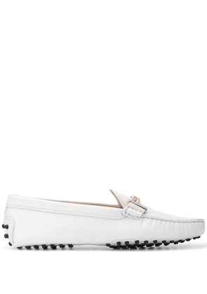 Tod's Gommini driving loafers - White