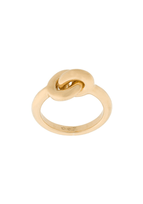 Charlotte Chesnais 18kt yellow gold Maxi Twin ring