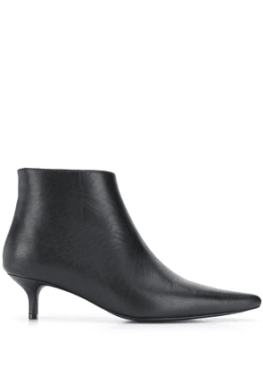 ANINE BING pointed-toe ankle boots - Black