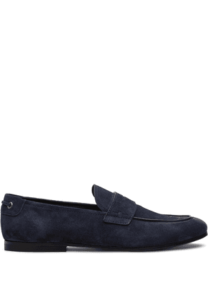 Car Shoe tapered toe loafers - Blue