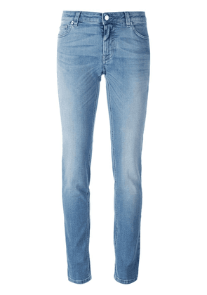 Givenchy star print slim fit jeans - Blue