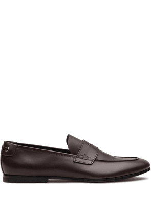 Car Shoe tapered toe loafers - Brown