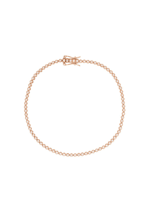 Eva Fehren 18kt rose gold 1mm Line diamond bracelet