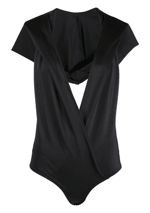 Balmain hooded bodysuit - Black