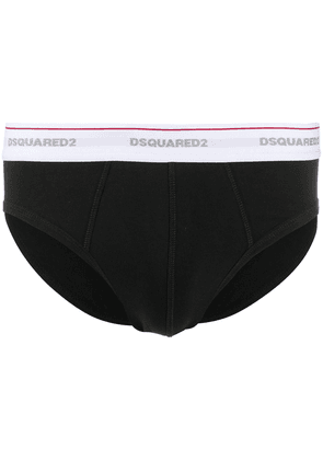 Dsquared2 printed briefs - Black