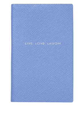 Smythson Panama notebook - Blue
