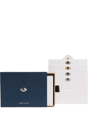 L'Objet Lito stationery set - Blue