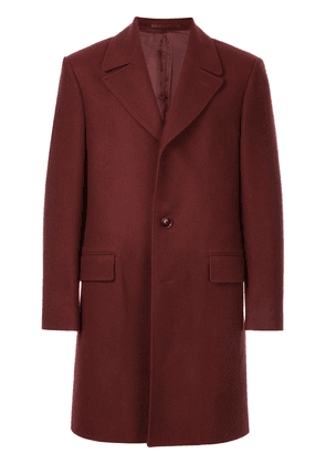 Gieves & Hawkes oversized coat - Red