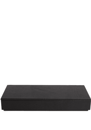 Michael Verheyden grained-effect pen box - Black