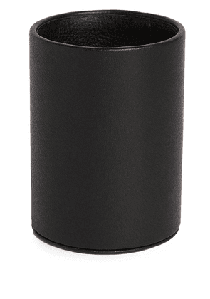 Michael Verheyden leather pen pot - Black