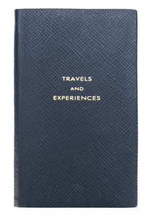 Smythson Travels & Experiences notebook - Blue