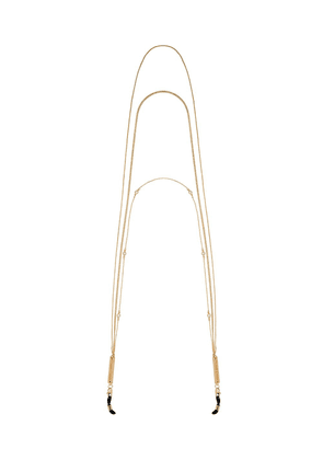 Frame Chain gold-plated In Chainz crystal embellished chains