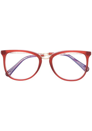 Chloé Eyewear round frame glasses - Red